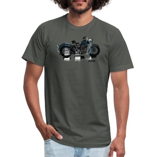 bulgebull_motorcycle - Unisex Jersey T-Shirt by Bella + Canvas