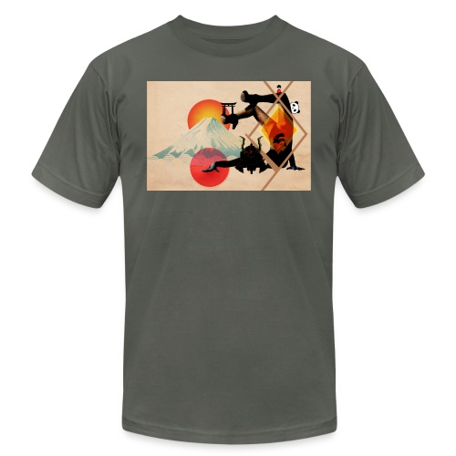 Japaned - Unisex Jersey T-Shirt by Bella + Canvas