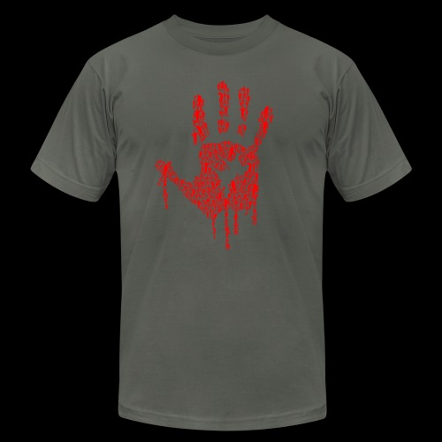 The Haunted Hand Of Zombies - Unisex Jersey T-Shirt by Bella + Canvas