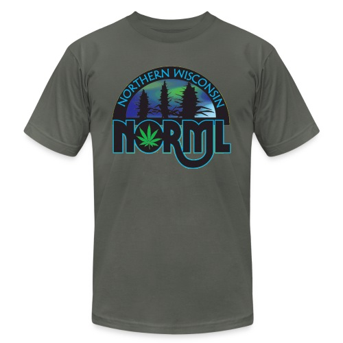 Northern Wisconsin NORML Official Logo - Unisex Jersey T-Shirt by Bella + Canvas