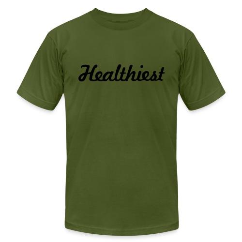 Sick Healthiest Sticker! - Unisex Jersey T-Shirt by Bella + Canvas