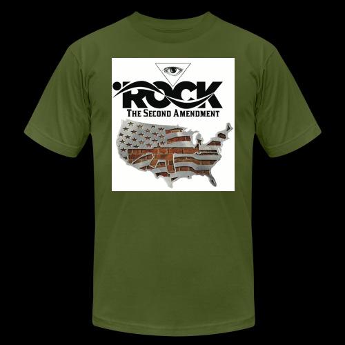 Eye Rock the 2nd design - Unisex Jersey T-Shirt by Bella + Canvas
