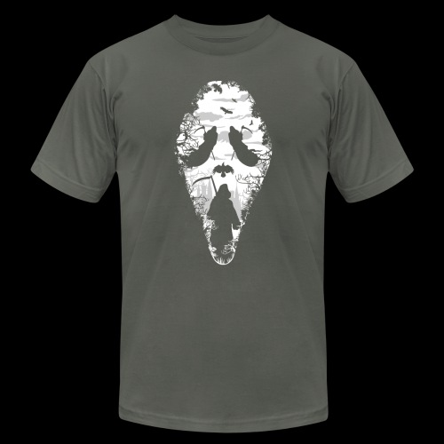 Reaper Screams | Scary Halloween - Unisex Jersey T-Shirt by Bella + Canvas