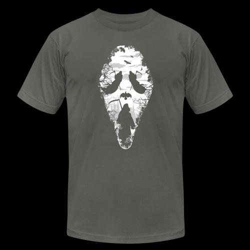 Reaper Screams   Scary Halloween - Unisex Jersey T-Shirt by Bella + Canvas