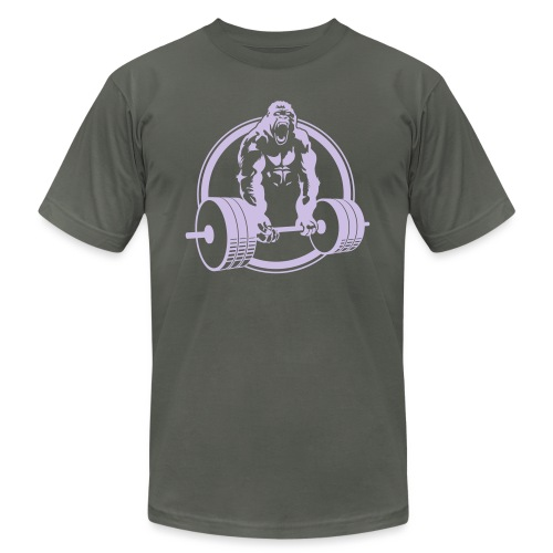 Gorilla Lifting Fitness - Unisex Jersey T-Shirt by Bella + Canvas