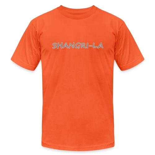 Shangri La silver - Unisex Jersey T-Shirt by Bella + Canvas