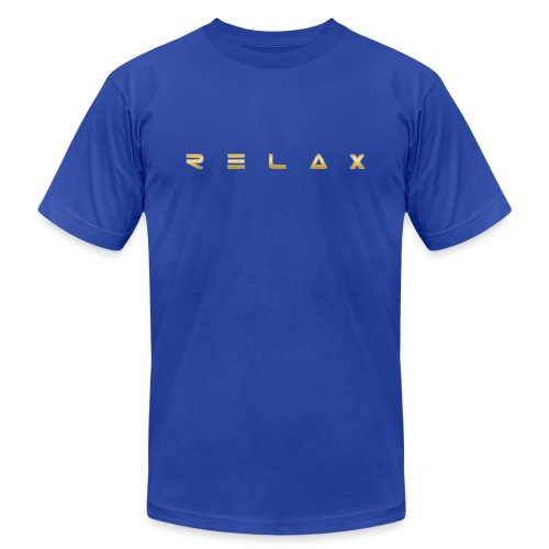 Relax gold - Unisex Jersey T-Shirt by Bella + Canvas