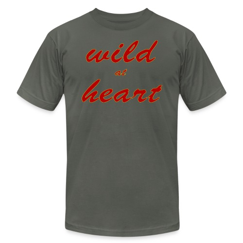 wild at heart - Unisex Jersey T-Shirt by Bella + Canvas