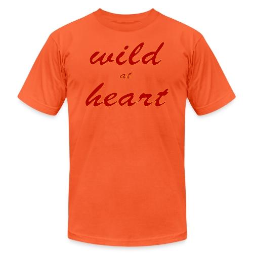 wild at heart - Unisex Jersey T-Shirt by Bella + Canvas