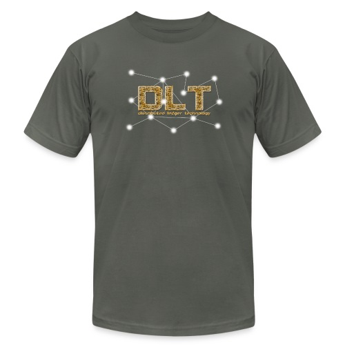 DLT - distributed ledger technology - Unisex Jersey T-Shirt by Bella + Canvas