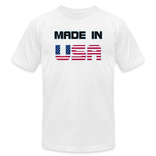 Made in USA - Unisex Jersey T-Shirt by Bella + Canvas