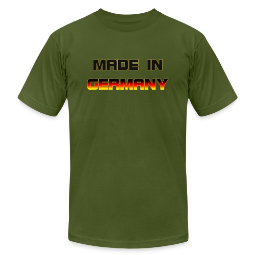 Made in Germany - Unisex Jersey T-Shirt by Bella + Canvas