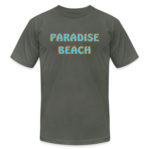 Paradise beach - Unisex Jersey T-Shirt by Bella + Canvas