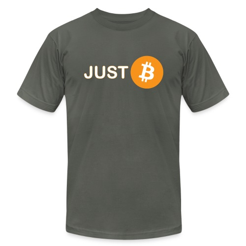 Just be - just Bitcoin - Unisex Jersey T-Shirt by Bella + Canvas