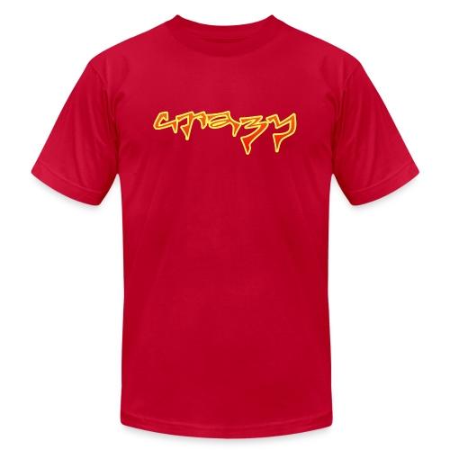 crazy - Unisex Jersey T-Shirt by Bella + Canvas