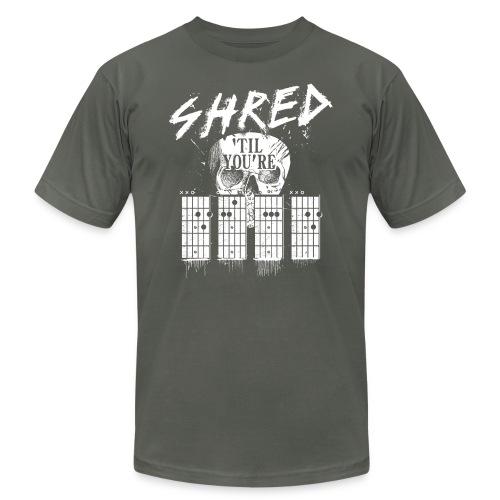 Shred 'til you're dead - Men's Jersey T-Shirt