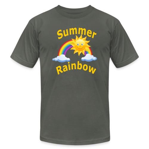 Summer Rainbow - Unisex Jersey T-Shirt by Bella + Canvas