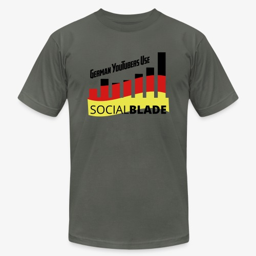 German YouTubers - Unisex Jersey T-Shirt by Bella + Canvas