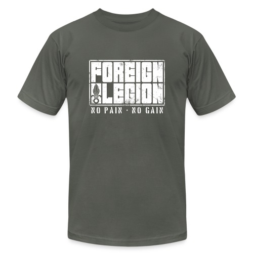 foreign-legion-bold-text - Unisex Jersey T-Shirt by Bella + Canvas