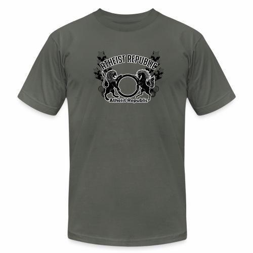 Atheist Republic Logo - Shooting Stars - Unisex Jersey T-Shirt by Bella + Canvas