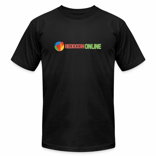 Reddcoin online logo red and green - Unisex Jersey T-Shirt by Bella + Canvas