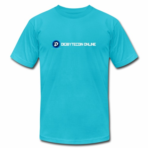 Digibyte online light - Unisex Jersey T-Shirt by Bella + Canvas
