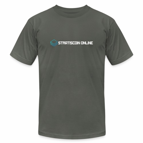 stratiscoin online light - Unisex Jersey T-Shirt by Bella + Canvas