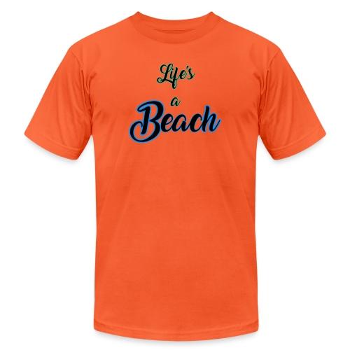 Life's a Beach - Unisex Jersey T-Shirt by Bella + Canvas