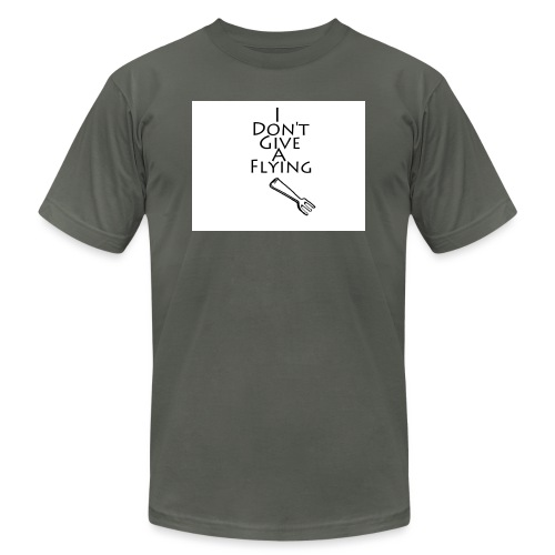 I Don't Give A Flying Fork - Unisex Jersey T-Shirt by Bella + Canvas