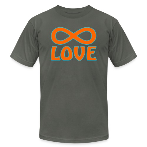 endless love - Unisex Jersey T-Shirt by Bella + Canvas
