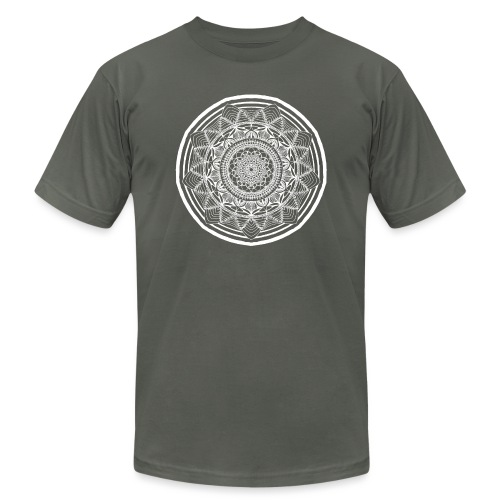 Circle No.1 - Unisex Jersey T-Shirt by Bella + Canvas