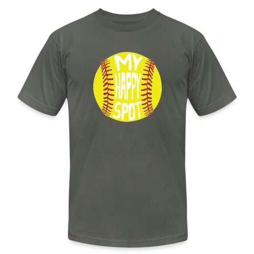 People s Republic of Burlington Softball - Unisex Jersey T-Shirt by Bella + Canvas