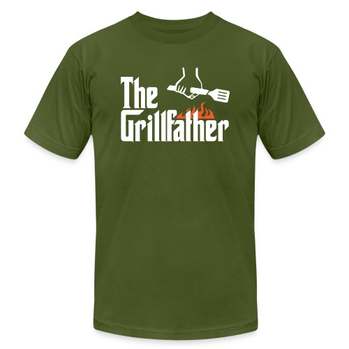 The Grillfather - Unisex Jersey T-Shirt by Bella + Canvas