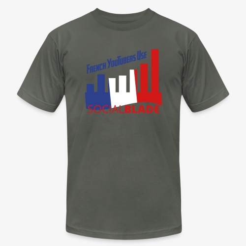 French YouTubers - Unisex Jersey T-Shirt by Bella + Canvas