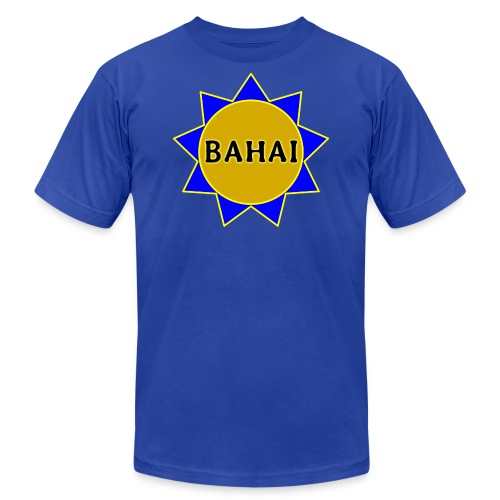 Bahai star - Unisex Jersey T-Shirt by Bella + Canvas