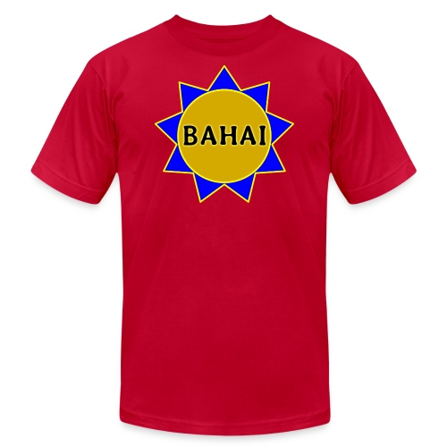 Bahai star - Unisex Jersey T-Shirt by Bella + Canvas