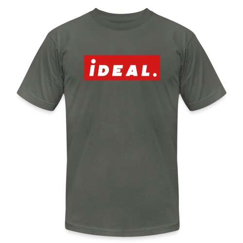 ideal Logo Red - Unisex Jersey T-Shirt by Bella + Canvas