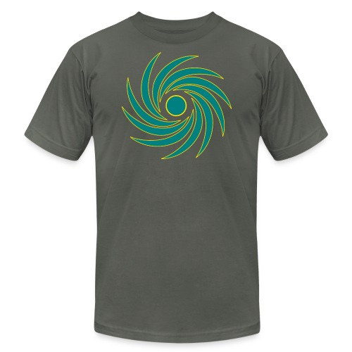 Whirl - Unisex Jersey T-Shirt by Bella + Canvas