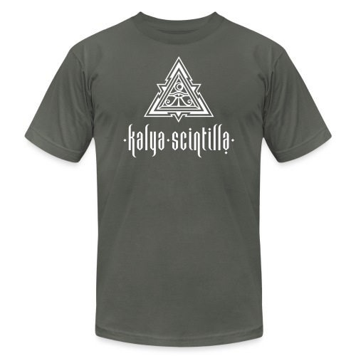 Scintilla_logoteewhite - Unisex Jersey T-Shirt by Bella + Canvas