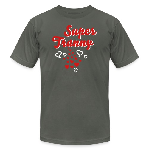 super tranny - Unisex Jersey T-Shirt by Bella + Canvas