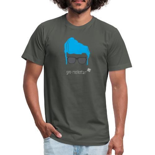 Geo Rockstar (him) - Unisex Jersey T-Shirt by Bella + Canvas