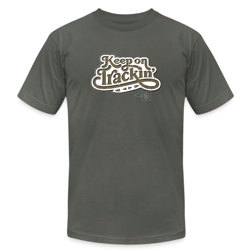 Keep On Trackin' - Men's Jersey T-Shirt