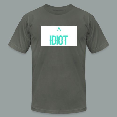 Idiot ^ - Unisex Jersey T-Shirt by Bella + Canvas