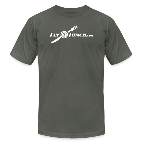 fly2lunch - Unisex Jersey T-Shirt by Bella + Canvas