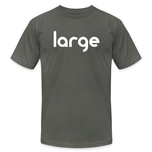 getLarge2011blackWHITE gif - Unisex Jersey T-Shirt by Bella + Canvas