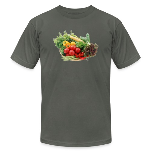 vegetable fruits - Unisex Jersey T-Shirt by Bella + Canvas