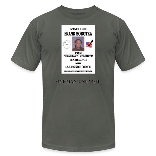 One Man One Vote - Unisex Jersey T-Shirt by Bella + Canvas