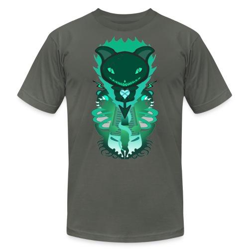 CUTE MONSTER CAT DESIGN SHIRT - Men's  Jersey T-Shirt