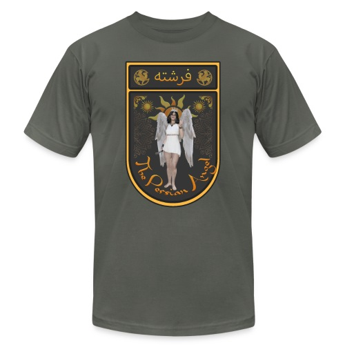 Persian Angel Anahita - Farsi Angel - Unisex Jersey T-Shirt by Bella + Canvas