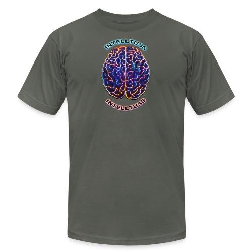 #IntellTuss (Chest Shirt) - Unisex Jersey T-Shirt by Bella + Canvas